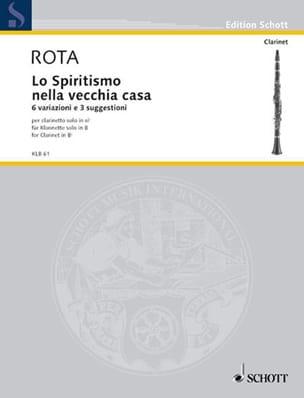 Lo Spiritismo Nella Vecchia Casa ROTA Partition laflutedepan
