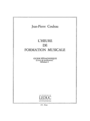 Jean-Pierre Couleau - The time of FM - Deb. 2 - Prof. - Sheet Music - di-arezzo.com