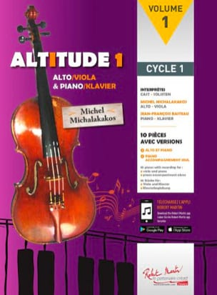 Michel Michalakakos - Altitude 1 - Sheet Music - di-arezzo.co.uk