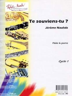 Te Souviens-Tu ? - Jérôme Naulais - Partition - laflutedepan.com