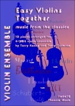 Easy Violins Together - Music From The Classics - laflutedepan.com