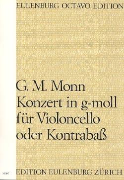 Georg Matthias Monn - Concerto en Sol Min. - Conducteur - Partition - di-arezzo.fr