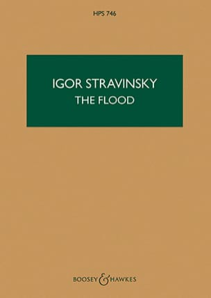 Igor Stravinsky - The Flood - Study Score - Partition - di-arezzo.fr