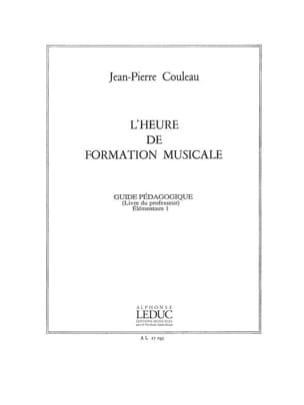 Jean-Pierre Couleau - L'heure de FM – Elém. 1 - Prof - Partition - di-arezzo.fr