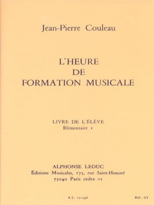 Jean-Pierre Couleau - L'heure de FM – Elém. 1 - Elève - Sheet Music - di-arezzo.co.uk