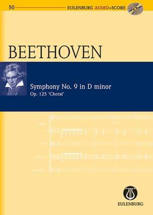 BEETHOVEN - Symphonie N° 9 en Ré Mineur Op. 125 - Partition - di-arezzo.fr