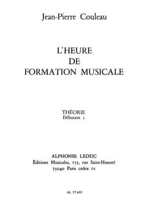 Jean-Pierre Couleau - L'heure de FM - Théorie – Déb. 1 - Partition - di-arezzo.fr