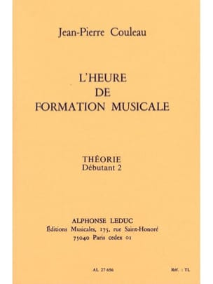 Jean-Pierre Couleau - The time of FM - Theory - Deb. 2 - Sheet Music - di-arezzo.co.uk