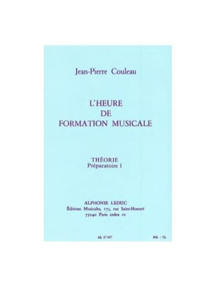 Jean-Pierre Couleau - FM Time - Theory - Prep. 1 - Sheet Music - di-arezzo.co.uk