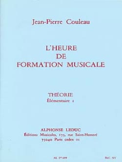 Jean-Pierre Couleau - The time of FM - Theory - Elém. 1 - Sheet Music - di-arezzo.co.uk