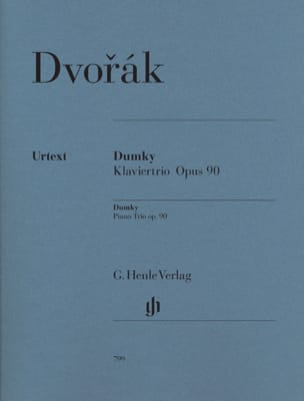 DVORAK - Dumky Trio with piano op. 90 - Sheet Music - di-arezzo.co.uk