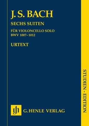 Six suites BWV 1007-1012 pour violoncelle seul - laflutedepan.com