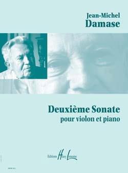 2ème Sonate Jean-Michel Damase Partition Violon - laflutedepan