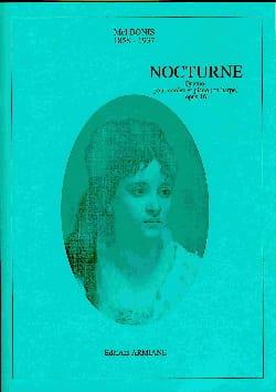 Mel Bonis - Nocturne - Quatuor Op.16 - Partition - di-arezzo.fr