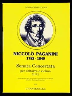 Sonata Concertata - Niccolò Paganini - Partition - laflutedepan.com
