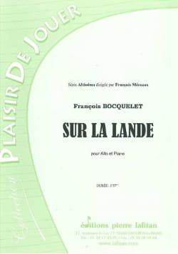 François Bocquelet - Sur la lande - Partition - di-arezzo.fr