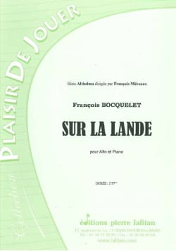 François Bocquelet - 停泊中 - 楽譜 - di-arezzo.jp