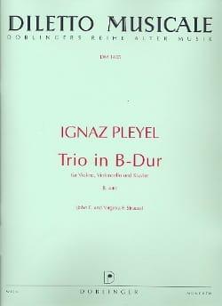 Trio in B-Dur B. 440 - Violine Violoncello Klavier - laflutedepan.com