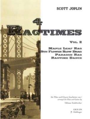 4 Ragtimes - Volume 2 –Flöten Gitarre - laflutedepan.com