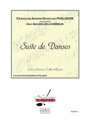 François-André-Danican Philidor - Suite of Dances - Sheet Music - di-arezzo.co.uk