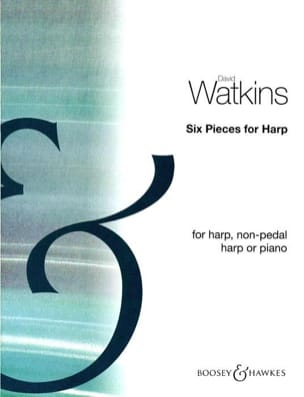 6 Pieces for harp David Watkins Partition Harpe - laflutedepan