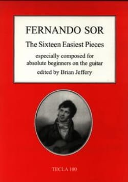 Fernando Sor - 16 Easy Rooms For Beginners - Sheet Music - di-arezzo.co.uk