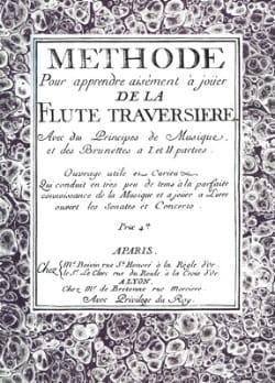 Michel Corrette - Methode pour apprendre aisément à jouer de la flûte traversière - Partition - di-arezzo.fr