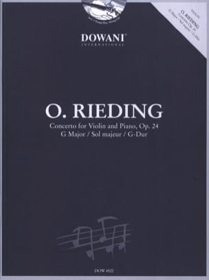 Oskar Rieding - Concerto In Sol Maj. Op. 24 - Sheet Music - di-arezzo.co.uk