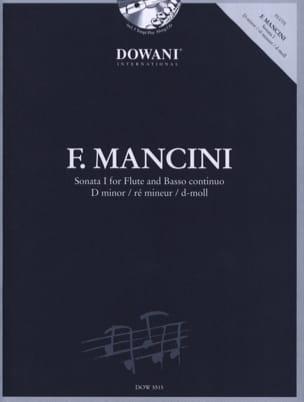 Francesco Mancini - Sonate 1 en ré min. - Flûte et Bc - Partition - di-arezzo.fr