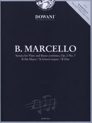 Benedetto Marcello - Sonate sib maj. op. 2 n° 7 - Flûte et Bc - Partition - di-arezzo.fr