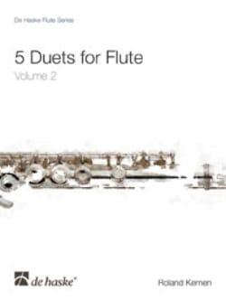 5 Duets For Flute Vol.2 - Roland Kernen - Partition - laflutedepan.com