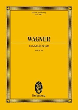 Tannhäuser - WAGNER - Partition - Grand format - laflutedepan.com