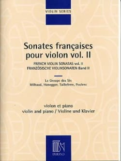 - French Sonatas for Violin - Volume 2 - Sheet Music - di-arezzo.co.uk