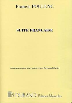 Francis Poulenc - Suite française –2 guitares - Partition - di-arezzo.fr