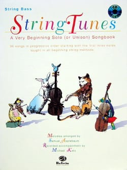 Samuel Applebaum - String Tunes - Double Bass - Sheet Music - di-arezzo.com