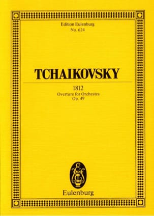 TCHAIKOVSKY - 1812 Solemn opening, op. 49 - Sheet Music - di-arezzo.co.uk