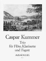Trio Op. 32 Gaspard Kummer Partition Trios - laflutedepan