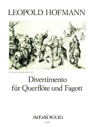 Leopold Hofmann - Divertimento - Partition - di-arezzo.fr