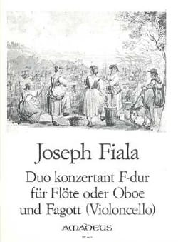 Joseph Fiala - Duo Concertant en Fa Maj. - Partition - di-arezzo.fr