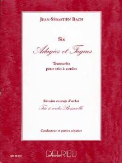 Bach Johann Sebastian / Borsarello - Adagios et Fugues - Partition - di-arezzo.fr
