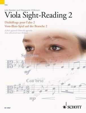 John & Wilkinson Marguerite Kember - Viola Sight-Reading 2 - Partition - di-arezzo.fr