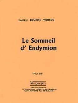 Le sommeil d'Endymion Isabelle Bourdin-Visbecq Partition laflutedepan