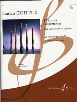 Francis Coiteux - 12 Concert Studies - Sheet Music - di-arezzo.co.uk