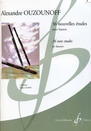 Alexandre Ouzounoff - 36 New Studies Volume 1 - Sheet Music - di-arezzo.com