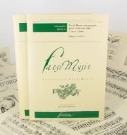 Alessandro Rolla - 3 Duos Concertants - 4°livre (1809) - Partition - di-arezzo.fr