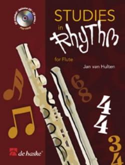Studies In Rhythm For Flute Hulten Jan Van Partition laflutedepan