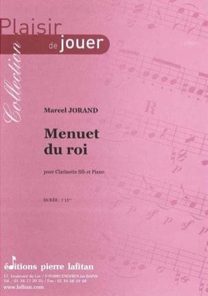 Menuet du Roi - Marcel Jorand - Partition - laflutedepan.com