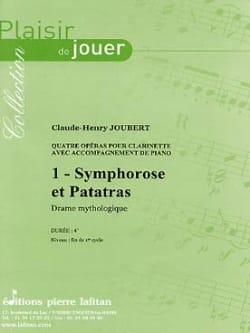 Symphorose et Patatras Claude-Henry Joubert Partition laflutedepan