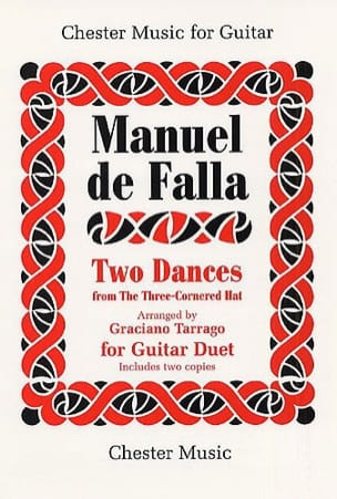 Dances Of The Miller DE FALLA Partition Guitare - laflutedepan