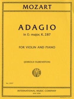 MOZART - Adagio K.287 En Eb Shift. - Partitura - di-arezzo.es